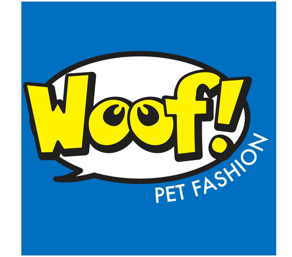 woof pet fashion logo